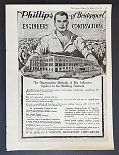W. R. Phillips & Company Engineers Contractors Ad