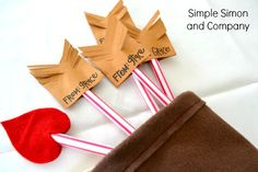 pixie stick arrows for vday