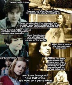 James Sirius Potter, Albus Severus Potter,Lily Luna Potter