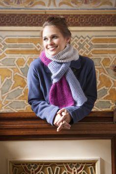Free Crochet Pattern NTCscarf Natalia Scarf : Lion Brand Yarn Company