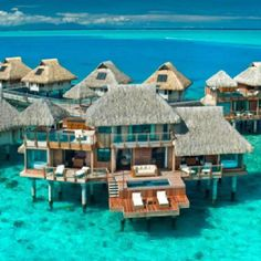 I don't think I would leave the hut.  No sightseeing, shopping, nothing but laying on that lounge chair and staring into the blue!