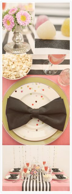 Bow Tie folded napkins - how great