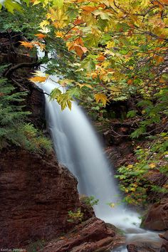 GREECE CHANNEL | Waterfall at #Lake #Plastira, #Greece http://www.greece-channel.com/