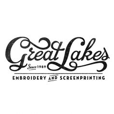 Great Lakes. Great Type.