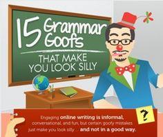15 Grammar Goofs to avoid in SoMe