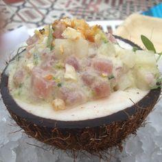 Sesame Crusted Tuna Steak On Arugula Recipes — Dishmaps