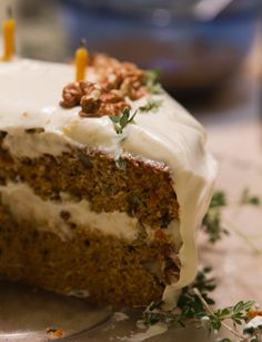Party Recipe: Carrot Cake with Tangy Orange Frosting Recipes from The Kitchn