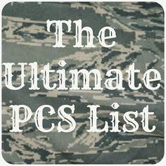 The Ultimate PCS List
