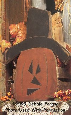 Primitive Wood Pumpkin Patterns | ... primitive crafts, country crafts, decorative painting, wood kits, wood