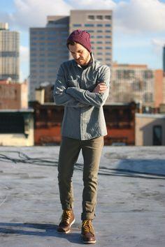 How my man dresses. ;)