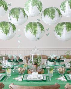 A Martha Stewart Garden Party