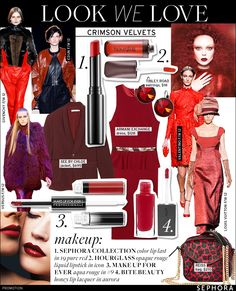 whowhatwearcom, fashion, crimson velvet, beauti, velvet red