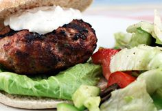 Ground turkey (Recipe: Greek turkey burgers with yogurt and feta sauce) - The Perfect Pantry®