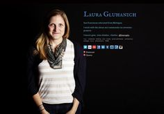 Laura Gluhanich's page on about.me