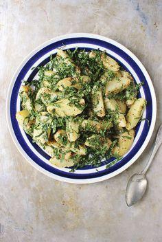 Grainy Mustard Potato + Massaged Kale Salad   With Food + Love   #glutenfree #vegan