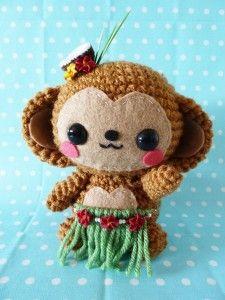 Amigurumi Big Monkey : Crochet Monkey see, Monkey do on Pinterest Crochet ...