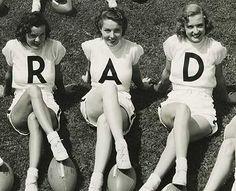 rad! vintage photos, epic win, art, old school, girl power, vintage ladies, friend, black, rad