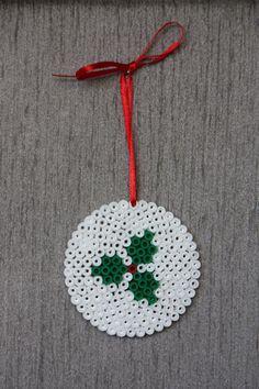 Christmas ornament perler beads