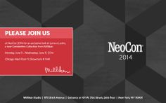 Join Milliken at #NeoCon14 and discover how industry leading color & print technology can inspire innovative designs that challenge conventional floor covering.