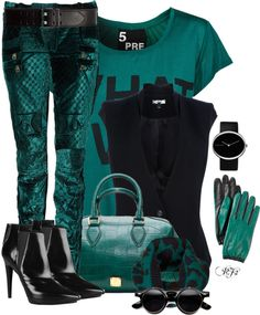 """""""Color Duo Contest"""" by passion-fashion-2 ❤ liked on Polyvore"""