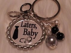 50 Shades of Grey Laters Baby 50 Shades keychain by HAZELCOVE, $14.50