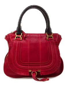 Chloe 'Marcie' Leather Satchel
