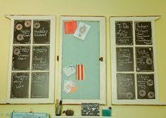 DIY window organizers