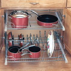 Cookware Organizer for 36
