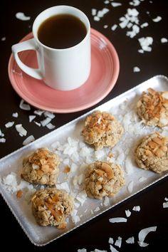 Vegan Peanut Butter Coconut Cookies