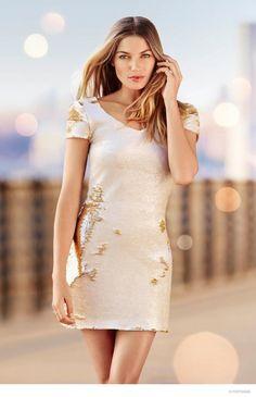 Here Comes the Sun: Jessica Hart Stars in Portmans Summer 2015 Campaign