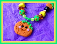Greenbrooke Designs - Polymer Clay : Halloween Necklaces