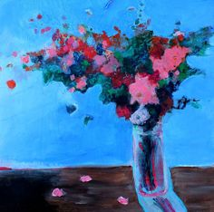 Acrylic Still Life Painting Floral