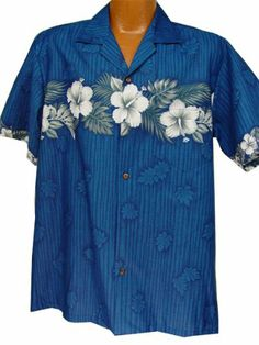 Another Hawaiian shirt idea for dad... Exclusive Hawaiian All New Hibiscus In Paradise Aloha Shirt