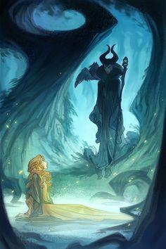 Nicholas Kole    Find more artworks at www.facebook.com/... & www.pinterest.com... #Nicholas Kole  #Maleficent