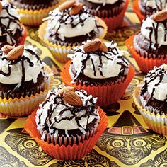 Chocolate-Coconut Cupcakes