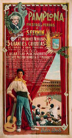 PAMPLONA 1908