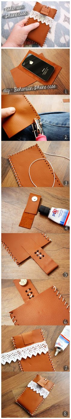 How To #Diy #Bohemian #Style #Iphone #Case #Tutorial
