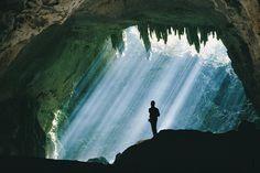 Sunbeams @ Camuy River Caves