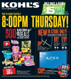 Kohl's Black Friday Ad 2013