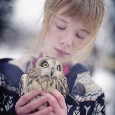 {holding owl} so much awesome