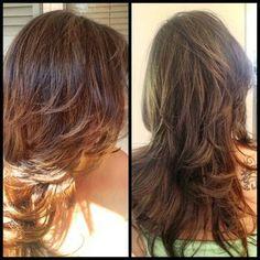 Dark Hair with Blonde and Caramel Highlights | Haircuts  Hairstyles for short long medium hair @angiepavs