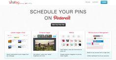 Schedule pins on #pinterest using viraltag.com