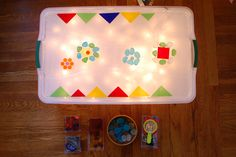Make it yourself light table!