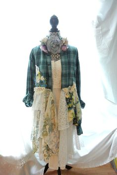 Bohemian Duster Romantic coat Steampunk piunk by TrueRebelClothing, $700.00