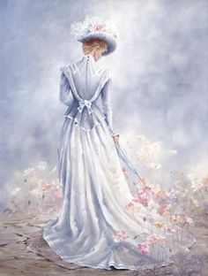 """Elegance of Spring"" painting by: Marty Bell"