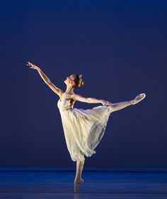 Celebration. Choreography - Christopher Gable CBE. Dancer - Irène Savary. Photo - Bill Cooper. by Central School of Ballet, via Flickr #arabesque