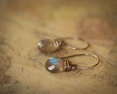 Mermaid Earrings by kellyannie on Etsy My favorite earrings of all time!