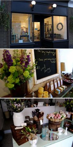 flower shop: love the simplicity of this gorgeous shop
