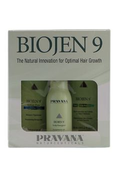 Pravana Biojen 9 kit  para evitar la caída del cabello