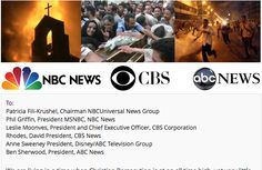 I just signed a petition urging ABC, NBC & CBS to cover Christian persecution. Please go add your signature!